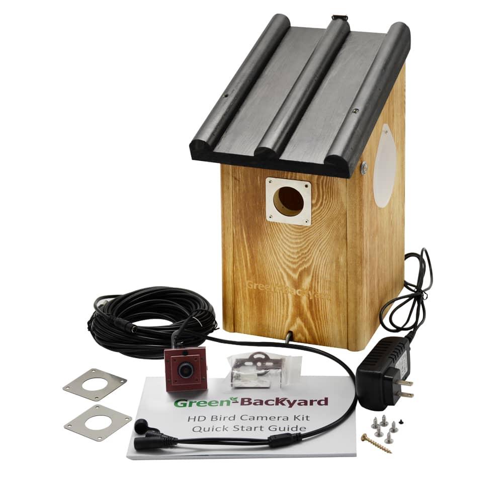 Vogelhuis met Camera WiFi - Green Backyard